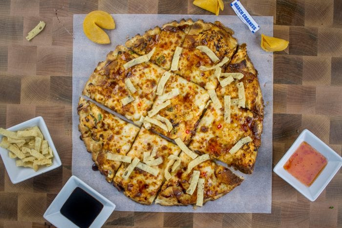 March Pizza of the Month - March Crabness